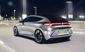 mercedes frankfurt mercedes concept eqa small electric hatchback debuts in frankfurt