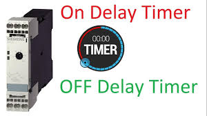 electrical timers on delay timer off delay timer star delta