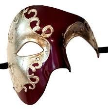 mardi gras mens mask men s phantom purple silver foil large mardi gras masquerade mask