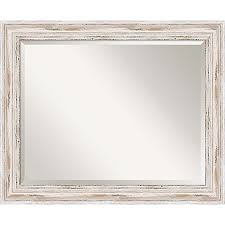 Bed Bath And Beyond Bathroom Mirrors by 27 Inch X 33 Inch Alexandria Bathroom Mirror In Whitewash Bed