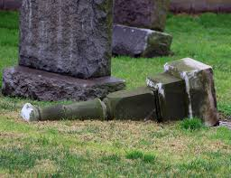 how much do headstones cost mass number of headstones toppled again at downey cemetery the