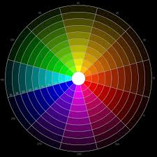 Shades Of Red Rgb 12 Hour Rgb Color Wheel With 9 Shades For Each Hue Color