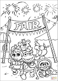 fair free coloring pages on art coloring pages
