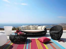 champagne floating sofa black with white pillows zerafino