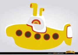 Bathtub Submarine Toy Yellow Submarine Toy In Cartoon Style Vector Free Download