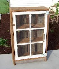 diy ideas for old window cabinets old window pane idea