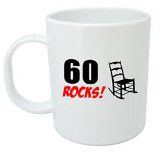gifts for 60 year olds 60 rocks 60th birthday gift mug ideal gifts for 60 year men