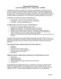 graduate school resume cv resume for graduate school sle krida info