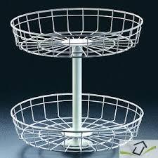plateau tournant cuisine sophalys etagere tournant de meuble de cuisine panier rotatif