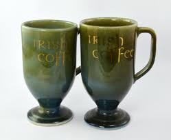 Porcelain Coffee Mugs Six Vintage Wade Irish Porcelain Irish Coffee Mugs Cups 68 00