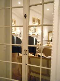 Mirror Doors For Closet Mirrored Closet Door Doors Ideas