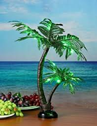 mini palm tree centerpiece home kitchen