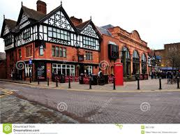 Tudor Style Houses by Tudor And Victorian Style Houses Chester Editorial Photo Image