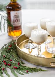 eggnog martini recipe wild turkey bourbon eggnog by womenanwhiskies w u0026w cocktails
