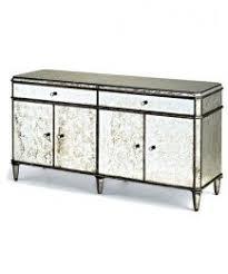 Mirror Credenza Distressed Mirrored Furniture Uk Mr 401115 Antique Gold Rimming