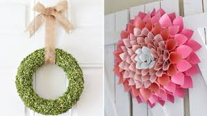 spring wreaths diy from pinterest today com