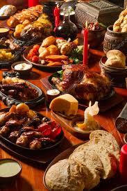 table full of food image of medival kings table full of food stock photo zekabibr