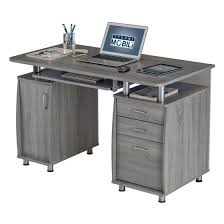 Computer Desk Workstation Techni Mobili Complete Workstation Computer Desk With Storage