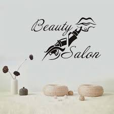 popular beauty salon wall stickers quotes buy cheap beauty salon quote and lip vinyl wall stickers for beauty salon shop wall decor removable self adhesive wallpaper