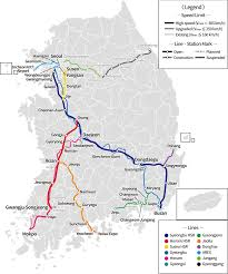 Seoul Metro Map by High Speed Rail In South Korea U2013 Travel Guide At Wikivoyage