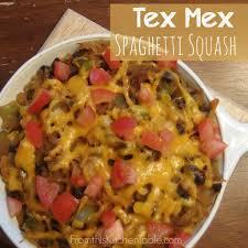 cuisine tex mex tex mex spaghetti squash from this kitchen table