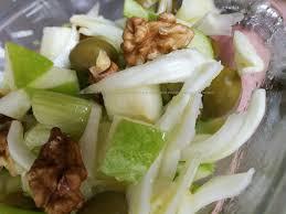 insalata di sedano e mele insalata di sedano mela verde finocchi olive e noci pasticciando
