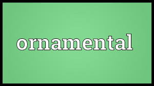 ornamental meaning