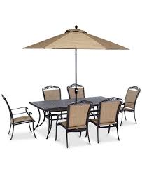 Beachmont Outdoor Patio Furniture Beachmont Ii Outdoor 7 Set 84 X42 Dining Table And 6