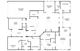 small 4 bedroom floor plans 4 bedroom floor plans bedroom house plans one story one bedroom open
