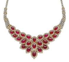 diamond necklace ruby images A ruby and diamond necklace jewelry necklace christie 39 s jpg