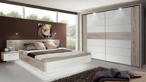 Schlafzimmer Komplett Eiche Sonoma 1 Rondino Komplettset In Sandeiche Weiß Hochglanz Mit Led
