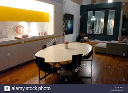 the kitchen movie a model of the kitchen and living room of a condominium of