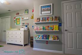 nursery room easy u0026 safe books shelves trends4us com