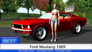 Ford Muscle Cars - ford mustang gt 1969 muscle cars best concept cars youtube