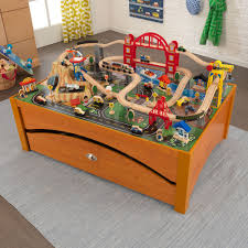 imaginarium train table 100 pieces 52 wood train set with table wooden table train set wooden train