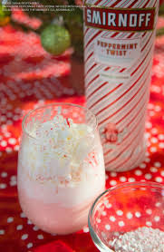 martini peppermint the peppermint knitted nog cocktail is a perfect drink for