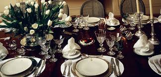 How To Set A Dining Room Table Table Setting Ideas How To Set A Formal Dinner Table Photos