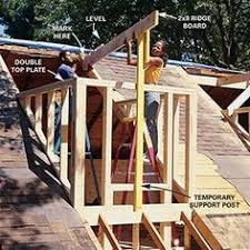 Gabled Dormer How To Frame A Gabled Dormer Future Bedrooms And Attic