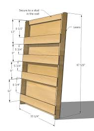 Leaning Shelves Woodworking Plans by Book Or Magazine Ladder Shelf Project Ideas Pinterest Ana