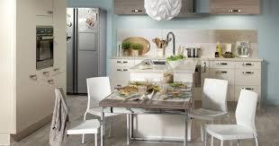cuisine moyenne gamme but cuisine aménagée convivia photo 1 11 des lignes épurées et