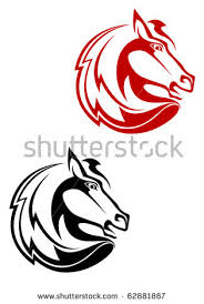 horse tattoo stock images royalty free images u0026 vectors