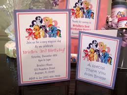 my little pony birthday party pdf cd w invitation favor water