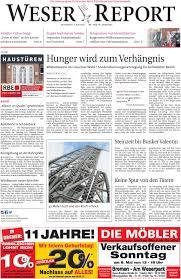 Zurbr Gen Esszimmerstuhl Weser Report Nord Vom 04 05 2016 By Kps Verlagsgesellschaft Mbh
