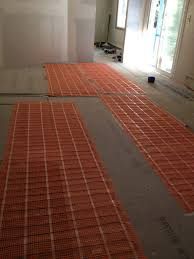 portable electric radiant floor heating for area rugs