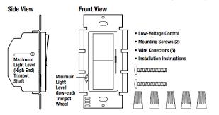 lutron diva dvstv 0 10v dimmer low voltage controller