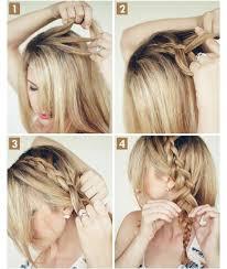 Hochsteckfrisurenen Mittellange Haare Selber Machen by Frisuren Lange Haare Flechten Selber Machen Acteam