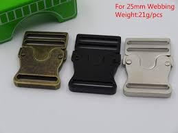 5 stücke metall gürtelschnallen für 25mm gurtband