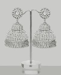 jhumka earrings online shopping large silver jhumka earrings indian indian bangles buy