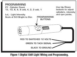 msd programmable digital shift light msd programmable digital shift light installation instructions