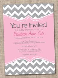 Free Baby Shower Invitation Cards Fabulous Pink And Gray Baby Shower Invitation Card Plus And Pink